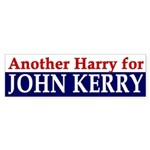 Another Harry for John Kerry (sticker)