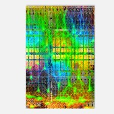 Neural network Postcards (Package of 8)