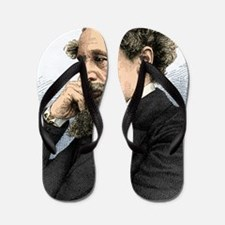 Charles Dickens, English author Flip Flops