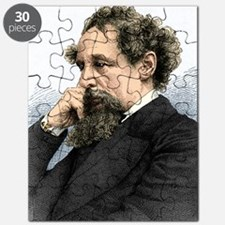 Charles Dickens, English author Puzzle