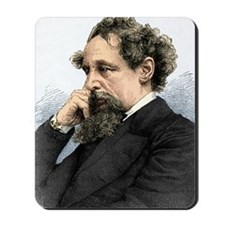 Charles Dickens, English author Mousepad