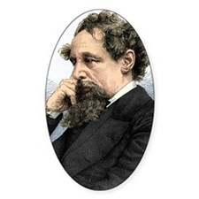 Charles Dickens, English author Decal