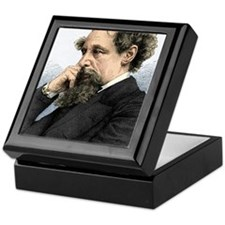 Charles Dickens, English author Keepsake Box