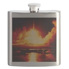 Night launch of Apollo 17 Flask