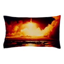 Night launch of Apollo 17 Pillow Case