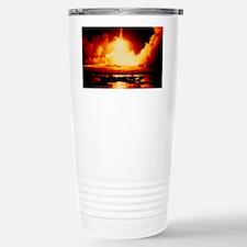 Night launch of Apollo 17 Travel Mug