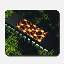 Neural chip Mousepad