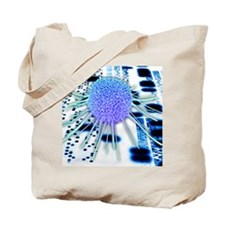 Cancer research Tote Bag