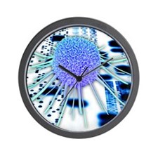 Cancer research Wall Clock