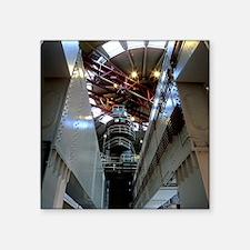 "Oldbury nuclear power stati Square Sticker 3"" x 3"""