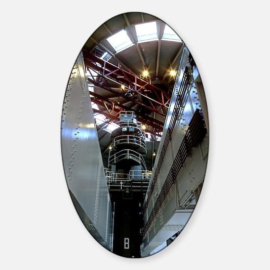Oldbury nuclear power station Sticker (Oval)