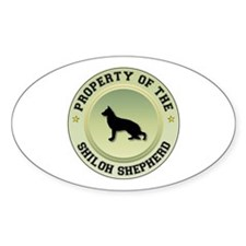 Shiloh Property Oval Decal