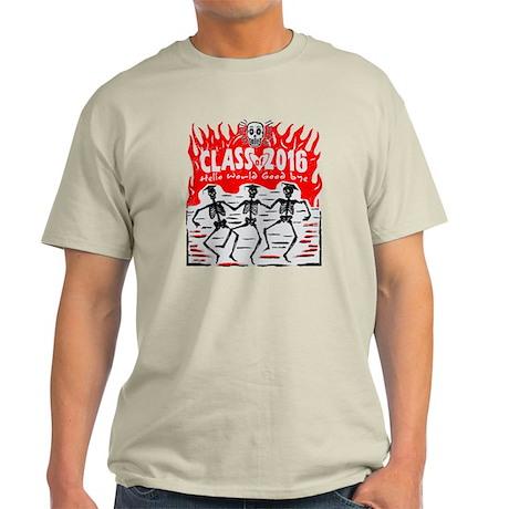 Class of 2016 Skeleton Grads Light T-Shirt