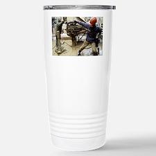 Oil drill operators Travel Mug