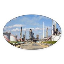 Oil refinery Decal