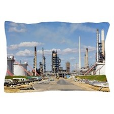 Oil refinery Pillow Case