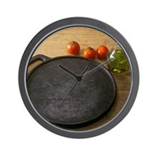 Cast iron skillet Wall Clock