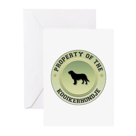 Kooikerhondje Property Greeting Cards (Package of