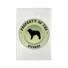 Kuvasz Property Rectangle Magnet (10 pack)