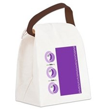 Luggage Handle Wrap Canvas Lunch Bag