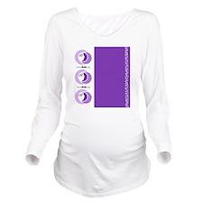 Luggage Handle Wrap Long Sleeve Maternity T-Shirt