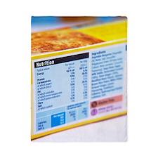 Nutrition label Twin Duvet