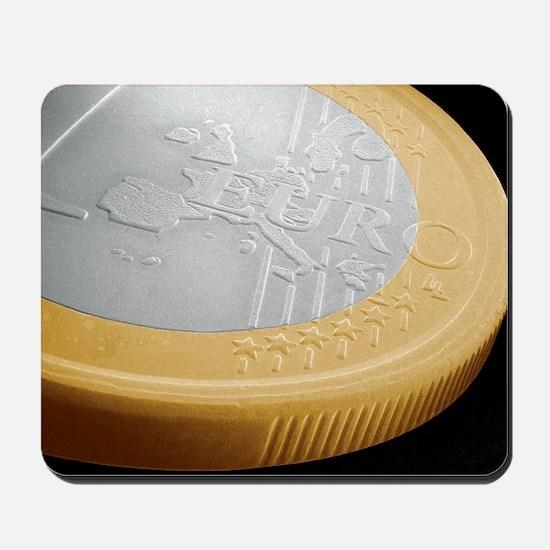 One euro coin, SEM Mousepad
