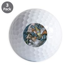 Charles Darwin, British naturalist Golf Ball