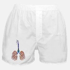 Cigarette filled lungs Boxer Shorts