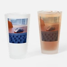 Optical computer mouse Drinking Glass