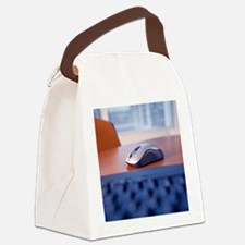 Optical computer mouse Canvas Lunch Bag