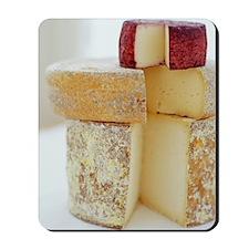 Cheese selection Mousepad