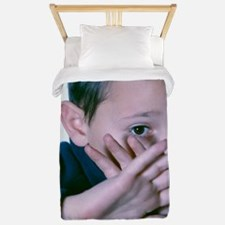 Child abuse Twin Duvet