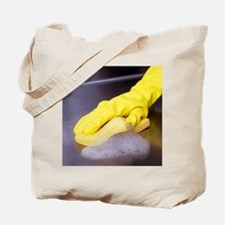 Cleaning sponge Tote Bag