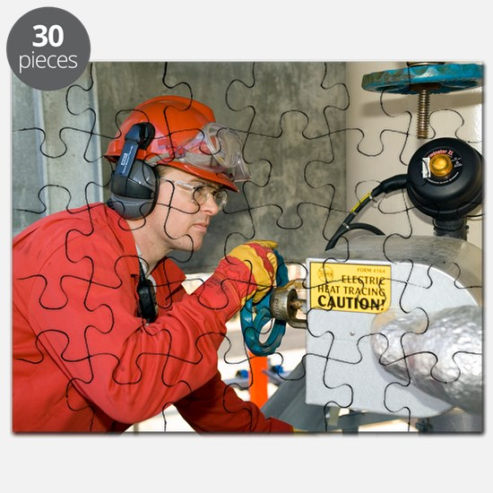Oil refinery worker Puzzle