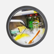Cleaning the dishes Wall Clock