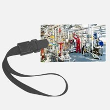 Oil refinery worker Luggage Tag