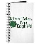 Kiss Me I'm English Journal