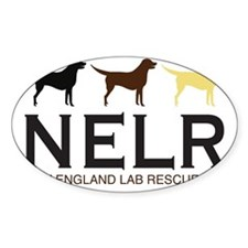 New England Lab Rescue Bumper Stickers