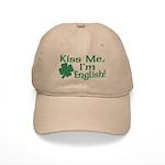 Kiss Me I'm English Cap