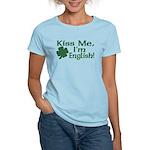 Kiss Me I'm English Women's Light T-Shirt