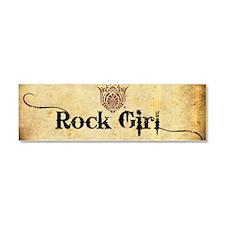 ROCK GIRL * Car Magnet 10 x 3