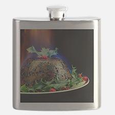 Christmas pudding Flask