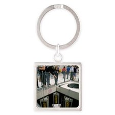 Oldbury nuclear power station open Square Keychain