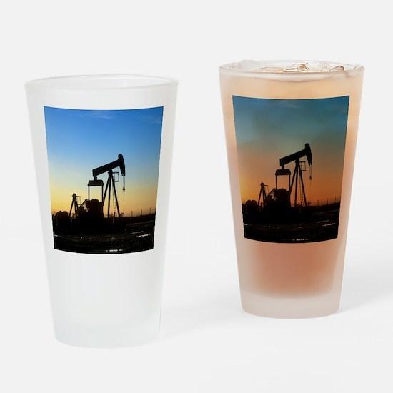 Oil well pump Drinking Glass