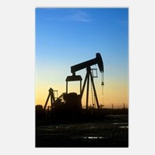 Oil well pump Postcards (Package of 8)