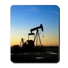Oil well pump Mousepad