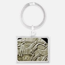 One of the first depictions of  Landscape Keychain
