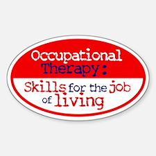 OT Skills Oval Decal