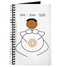 Brown Mama live/love/light Journal
